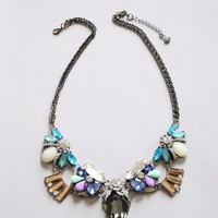 Multi Colors Crystal Necklace