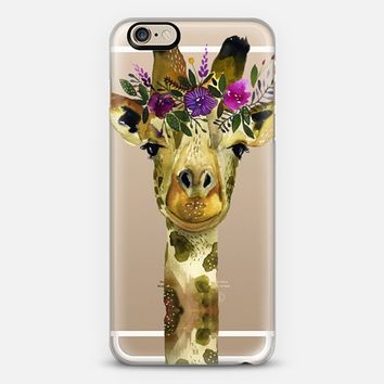 Giraffe iPhone 6s case by sarahcrayart | Casetify