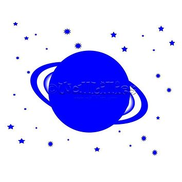 Planet I Decal