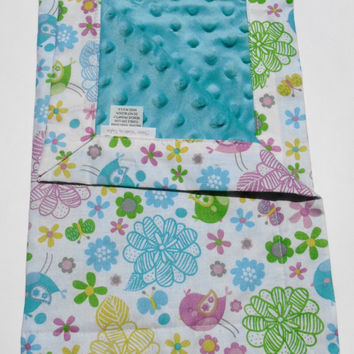 Small baby blanket,Lovey Blanket,Minky Security Blanket,Blanket,Baby Lovey, New Baby,Minky Blanket,Baby Shower Gift,Toddler Blanket