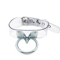 Mega Clear Vinyl Knocker Choker