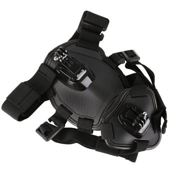 Adjustable Outdoor Pet Vest Harness Chest Strap for GoPro Hero 5 6 4 Session SJCAM Yi 4K H9 Action Camera Go Pro Accessory