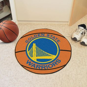 FANMATS Golden State Warriors Basketball Mat