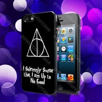 I Solemnly Swear That I am Harry Potter Case For iPhone 5, 5S, 5C, 4, 4S and Samsung Galaxy S3, S4