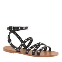 J.Crew Womens Maren Studded Cross-Strap Sandals