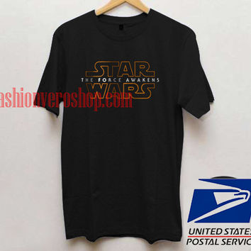 Star Wars The Force Awakens Unisex adult T shirt