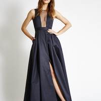 The OLIVER Gown in Satin - Multiple Colors