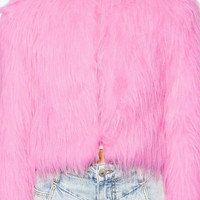 Pinkkaholic Faux Fur Coats Winter