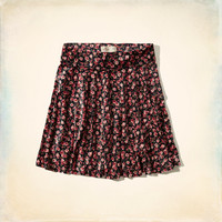 Pacific Coast Velvet Skater Skirt