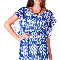 Agrinio Printed Dress