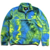 SP19 Polar Fleece Mock Neck Tie Dye