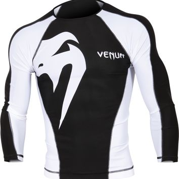 VENUM GIANT LONG SLEEVE RASH GUARD | TITLE MMA Gear
