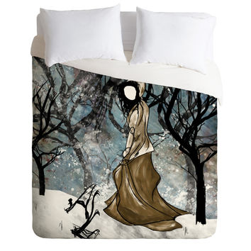 Amy Smith Winter 1 Duvet Cover
