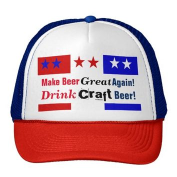 Make Beer Great Again-3 non grey Trucker Hat