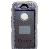 OtterBox Defender Series Case iPhone 5/5s Glitter Cute Sparkly Bling Defender Series Custom Case Grey/ Graphite