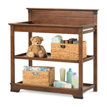 Child Craft Redmond Changing Table Coach Cherry F02816.06