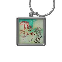 Horse Tails Keychain