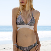 ACACIA SWIMWEAR - Lennox Top | Tropical Snake