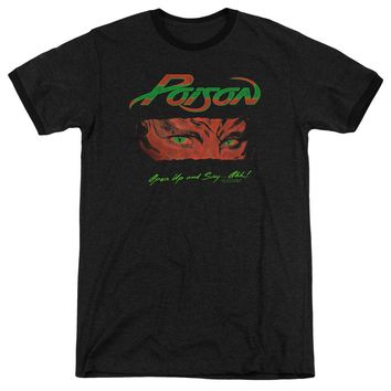 Poison Ringer T-Shirt Open Up and Say Ahh Black Tee