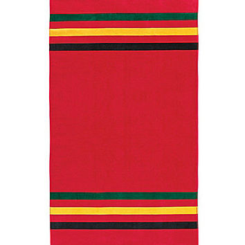 Pendleton National Park Rainier Body Towel - Red