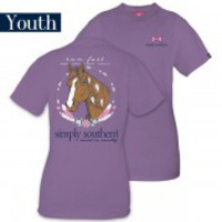 """*Closeout* Youth Simply Southern """"Horse"""" Tee"""