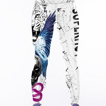 Tie-Dyed Leggings - Multiple Color Choices