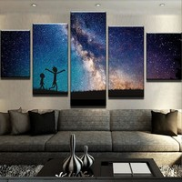 R&M Galaxy Canvas Set