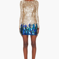 Matthew Williamson Liquid Sequin Dress for women