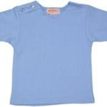 Zutano Chambray Short Sleeve Tee Shirt 6-12 months
