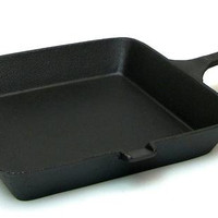 Cast Iron Square Skillet 10""