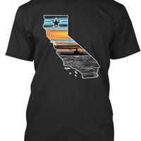 California Kayak Fishing Tshirt V2
