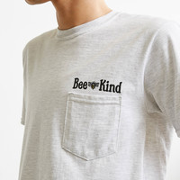 Beholder Bee Kind Pocket Tee | Urban Outfitters