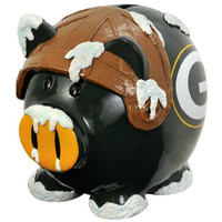 Green Bay Packers NFL Team Thematic Piggy Bank (Large)