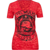 METAL MULISHA Bannerista Womens Tee 205423300 | Graphic Tees & Tanks | Tillys.com