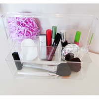 Multi-Purpose 4 Compartment Organizer With Convenient Carry Handle