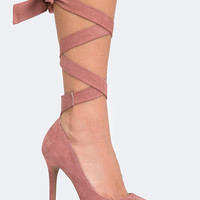 Strappy High Heel Pump