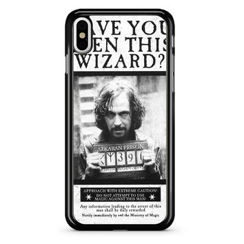 Sirius Black Wanted Poster iPhone X Case