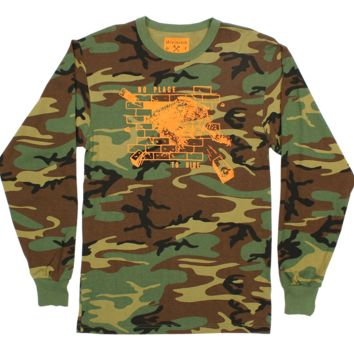 Brick Panther Camo Long Sleeve Tee
