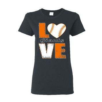 SF Giants Love Baseball Giants Shirt San Francisco Giants San Francisco Shirt Giants T Shirt SF Giants Shirt Love Baseball Shirt SF Art