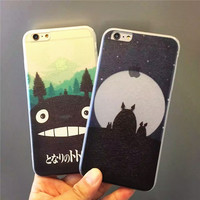 On Sale Cute Stylish Hot Deal Hot Sale Iphone 6/6s Cats Anime Apple Iphone Soft Phone Case [6281933318]