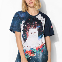 Aloha From Deer Crazy Cat Tee - Urban Outfitters