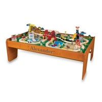 """KidKraft® Personalized """"Daniel"""" Ride Around Town Train Set with Table"""