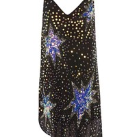 Cosmic Star Embellished Slip Dress | Topshop