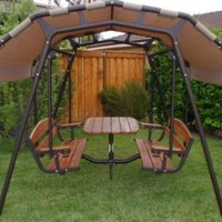 The Ultimate Outdoor Glider Swing