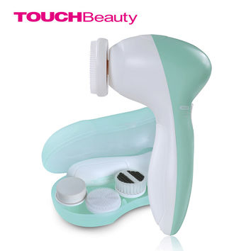 Face Cleanser 3 in 1 Heads Facial Cleansing Brush