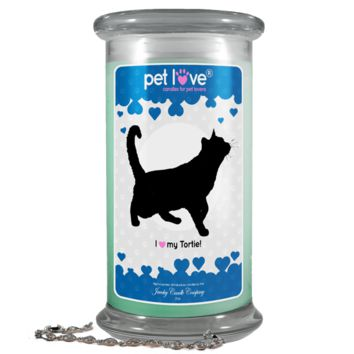I love my Tortie! | Pet Love Candle®