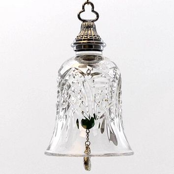 Holiday Ornament Partridge Waterford Crystal Glass Ornament