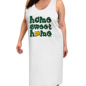 Home Sweet Home - New Mexico - Cactus and State Flag Adult Tank Top Dress Night Shirt by TooLoud