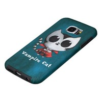 Cute Vampire Cat iPhone 5 Cover