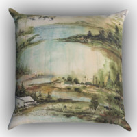 Bon Iver Zippered Pillows  Covers 16x16, 18x18, 20x20 Inches